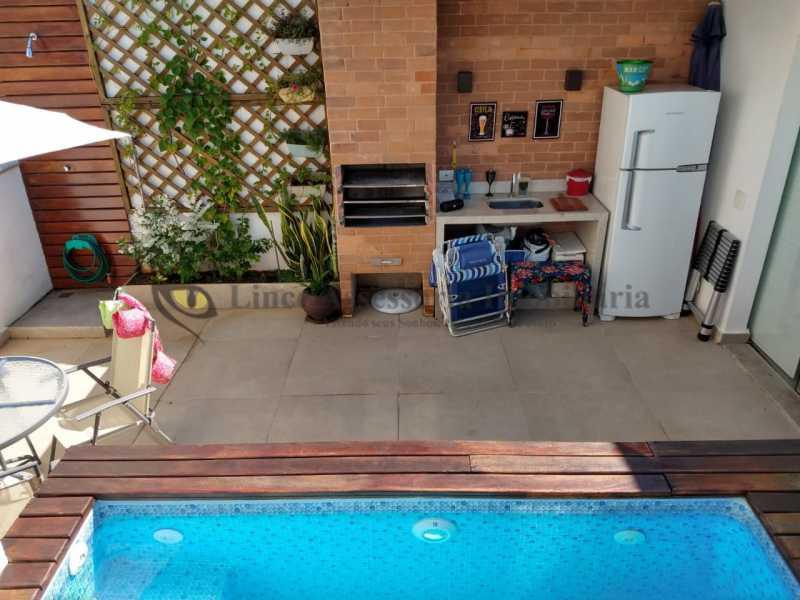 TERRAÇO - Cobertura 2 quartos à venda Grajaú, Norte,Rio de Janeiro - R$ 830.000 - TACO20087 - 23