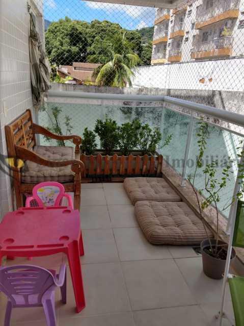 VARANDA - Cobertura 2 quartos à venda Grajaú, Norte,Rio de Janeiro - R$ 830.000 - TACO20087 - 10