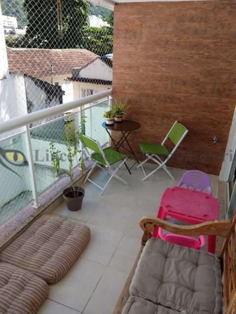VARANDA - Cobertura 2 quartos à venda Grajaú, Norte,Rio de Janeiro - R$ 830.000 - TACO20087 - 9