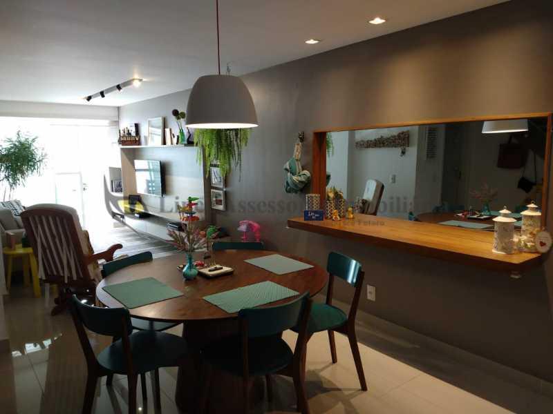 SALA DE JANTAR - Cobertura 2 quartos à venda Grajaú, Norte,Rio de Janeiro - R$ 830.000 - TACO20087 - 6