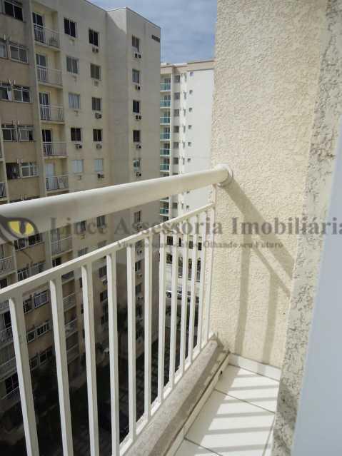 sacada 1 - Apartamento 2 quartos à venda Vasco da Gama, Rio de Janeiro - R$ 259.000 - TAAP22208 - 6