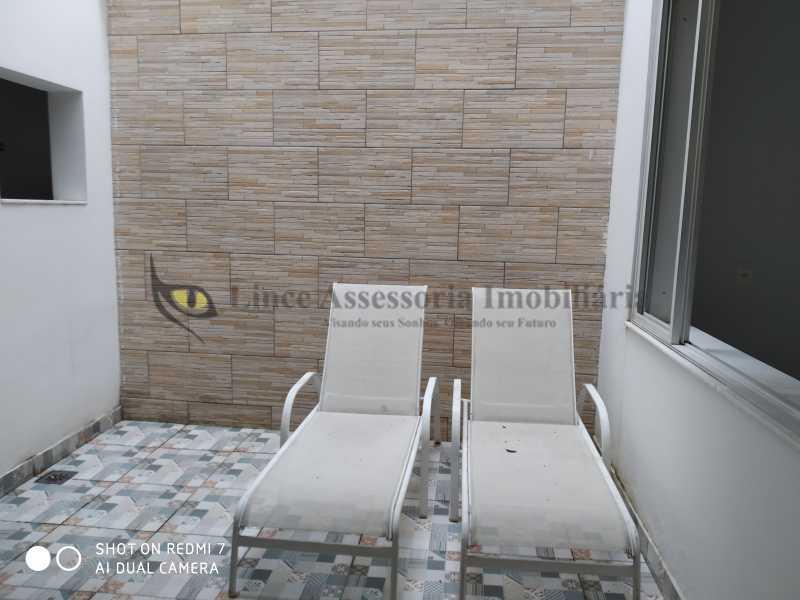 Área - Casa de Vila 2 quartos à venda Vila Isabel, Norte,Rio de Janeiro - R$ 680.000 - TACV20075 - 21
