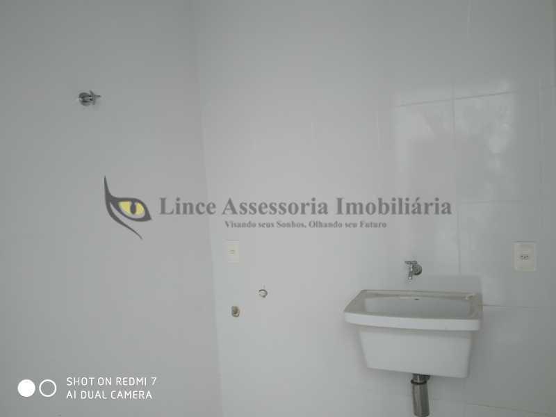 Área - Casa de Vila 2 quartos à venda Vila Isabel, Norte,Rio de Janeiro - R$ 750.000 - TACV20076 - 20