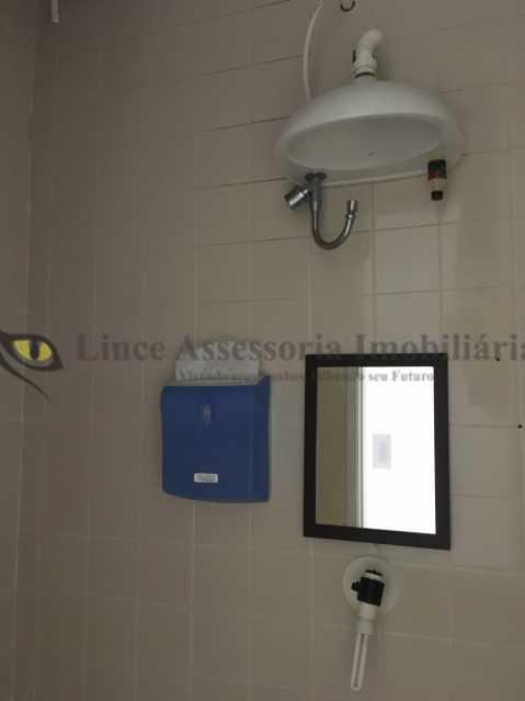 banheiro1 - Sala Comercial 29m² à venda Tijuca, Norte,Rio de Janeiro - R$ 250.000 - TASL00090 - 6