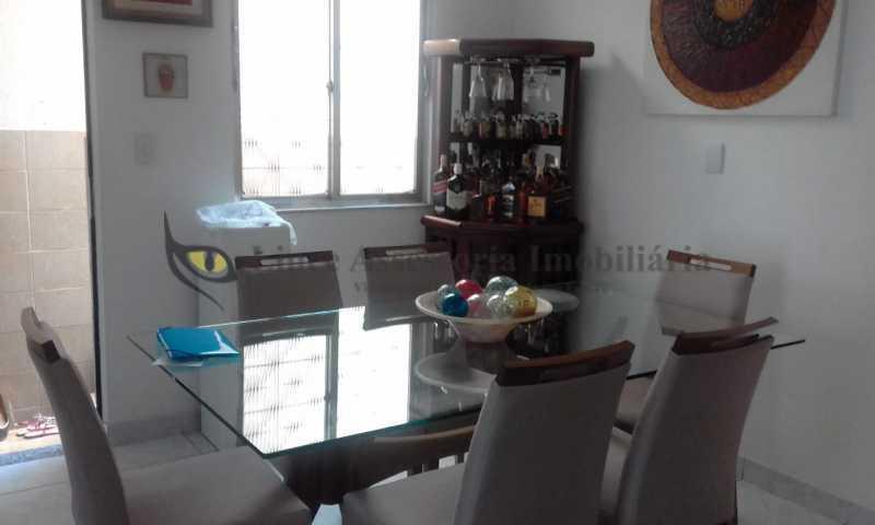1-sala jantar - Casa de Vila 3 quartos à venda Praça da Bandeira, Norte,Rio de Janeiro - R$ 800.000 - TACV30076 - 3