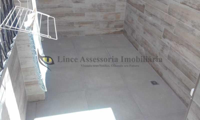21-área externa - Casa de Vila 3 quartos à venda Praça da Bandeira, Norte,Rio de Janeiro - R$ 800.000 - TACV30076 - 20