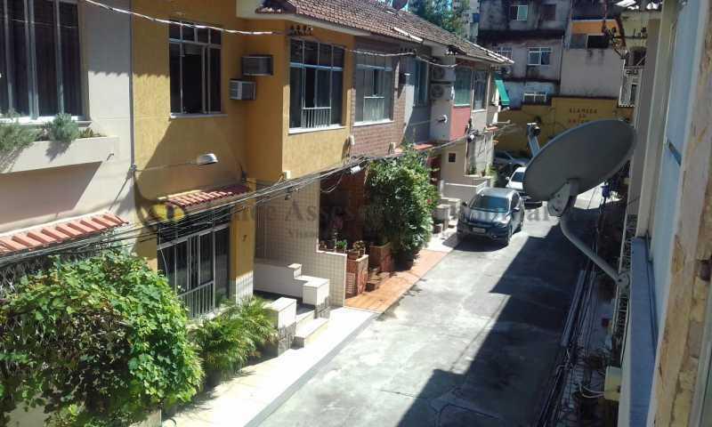 23-vista interna da vila - Casa de Vila 3 quartos à venda Praça da Bandeira, Norte,Rio de Janeiro - R$ 800.000 - TACV30076 - 22