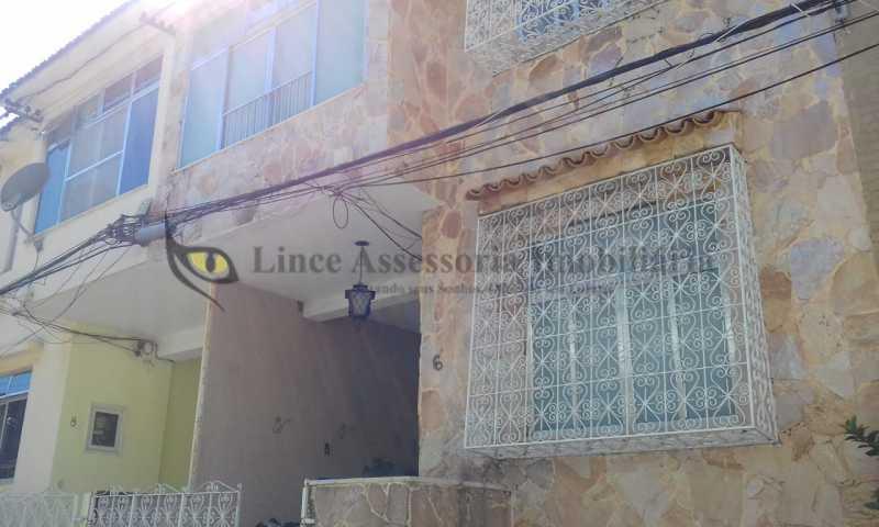 24-fachada casa. - Casa de Vila 3 quartos à venda Praça da Bandeira, Norte,Rio de Janeiro - R$ 800.000 - TACV30076 - 23