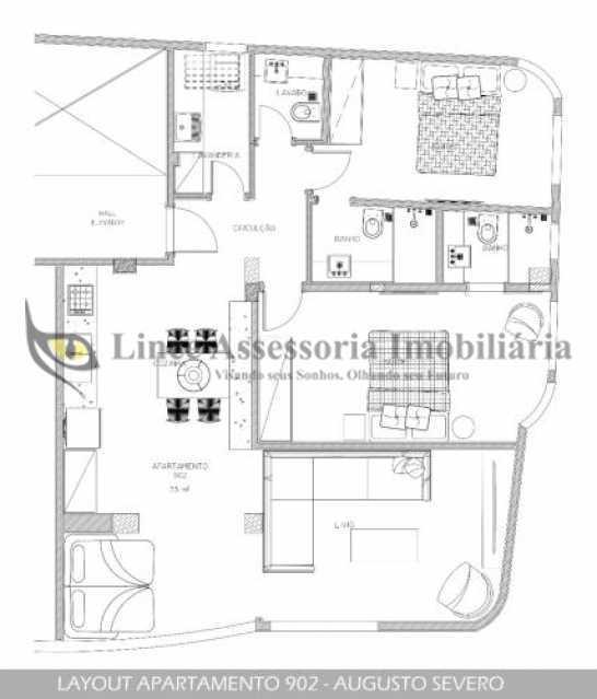 fotos-1. - Apartamento 2 quartos à venda Glória, Sul,Rio de Janeiro - R$ 899.000 - TAAP22295 - 14