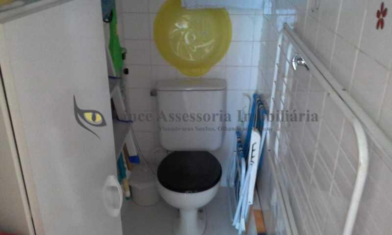 15-banheiro de empregada - Apartamento 1 quarto à venda Estácio, Norte,Rio de Janeiro - R$ 320.000 - TAAP10449 - 16