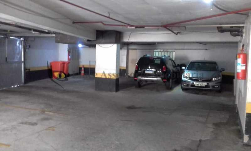 21-garagem - Apartamento 1 quarto à venda Estácio, Norte,Rio de Janeiro - R$ 320.000 - TAAP10449 - 22