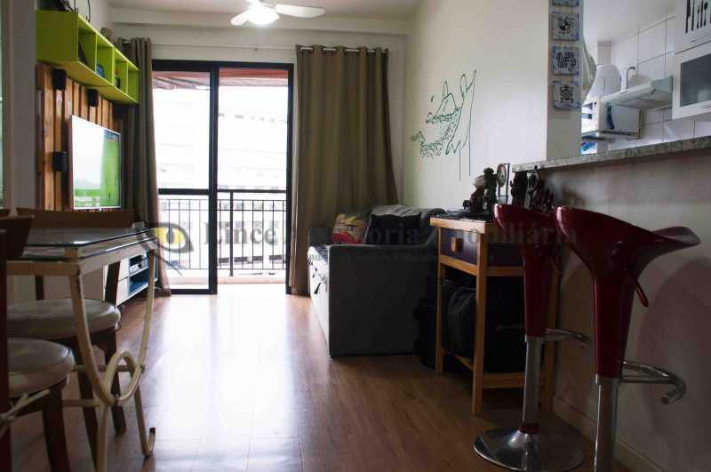 Sala  - Apartamento 1 quarto à venda São Cristóvão, Norte,Rio de Janeiro - R$ 375.000 - TAAP10450 - 3
