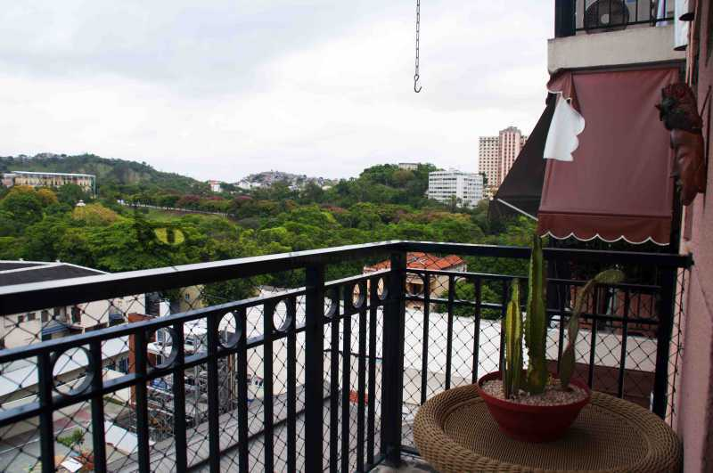 Varanda  - Apartamento 1 quarto à venda São Cristóvão, Norte,Rio de Janeiro - R$ 375.000 - TAAP10450 - 1