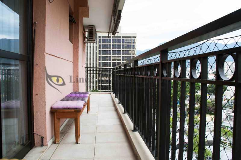 Varanda  - Apartamento 1 quarto à venda São Cristóvão, Norte,Rio de Janeiro - R$ 375.000 - TAAP10450 - 7