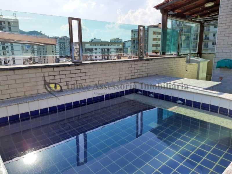 Piscina - Cobertura 3 quartos à venda Vila Isabel, Norte,Rio de Janeiro - R$ 680.000 - TACO30150 - 12