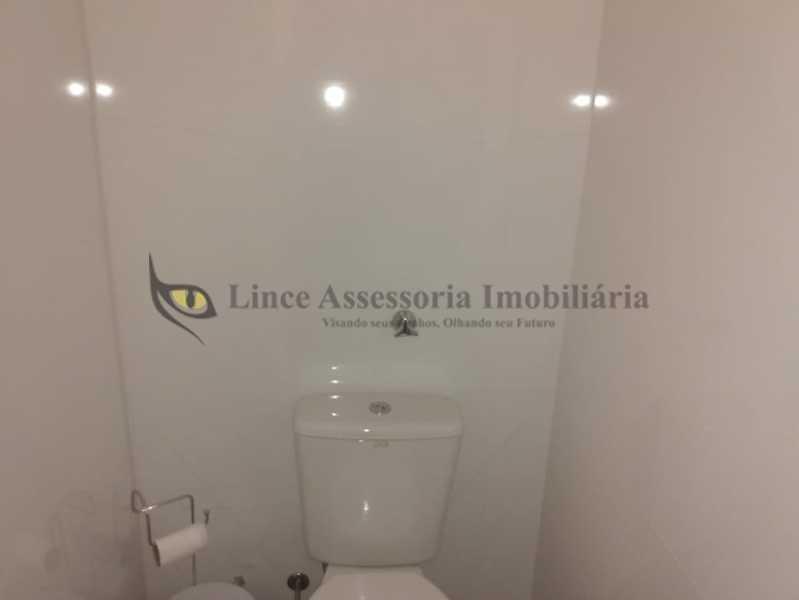 BANHEIRO SOCIAL1.1 - Sala Comercial 30m² à venda Tijuca, Norte,Rio de Janeiro - R$ 300.000 - TASL00095 - 4