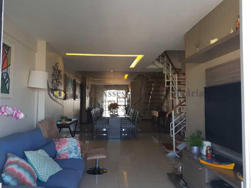 2 Salão. - Cobertura 3 quartos à venda Andaraí, Norte,Rio de Janeiro - R$ 950.000 - TACO30152 - 3