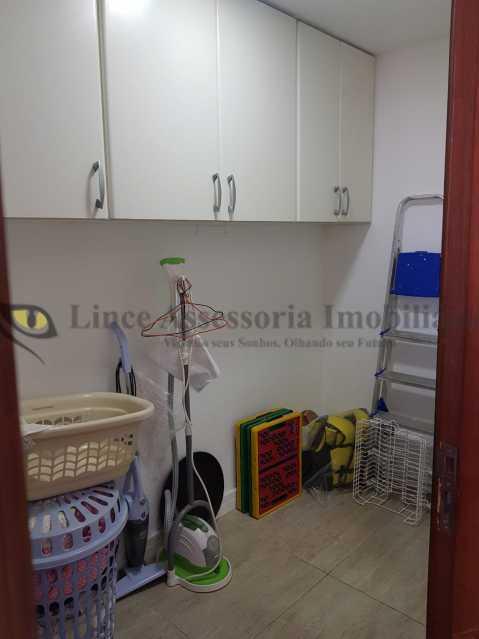 20 Quarto de serviço. - Cobertura 3 quartos à venda Andaraí, Norte,Rio de Janeiro - R$ 950.000 - TACO30152 - 21