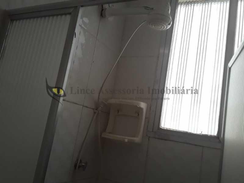 banheiro foto 2 - Apartamento 1 quarto à venda Copacabana, Sul,Rio de Janeiro - R$ 380.000 - TAAP10463 - 19