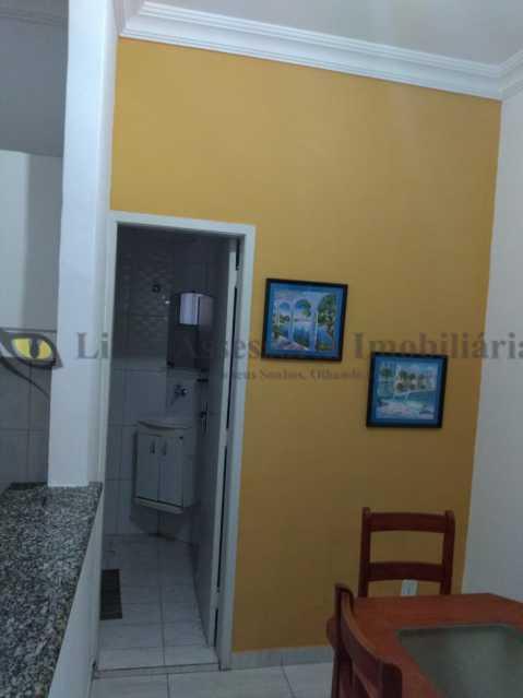 sala foto3 - Apartamento 1 quarto à venda Copacabana, Sul,Rio de Janeiro - R$ 380.000 - TAAP10463 - 5