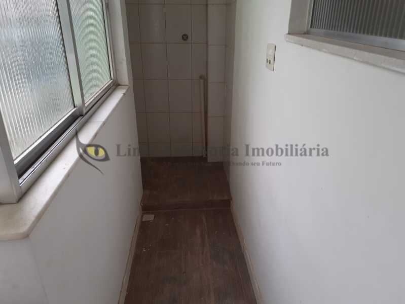 Area de Serviço - Apartamento 1 quarto à venda Grajaú, Norte,Rio de Janeiro - R$ 320.000 - TAAP10465 - 15