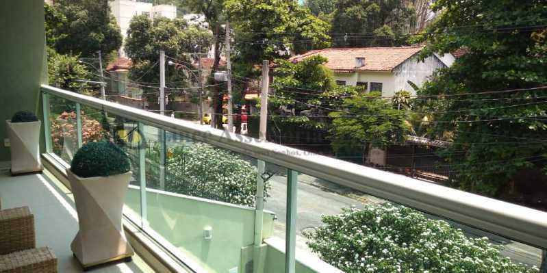 Varanda - Casa 4 quartos à venda Grajaú, Norte,Rio de Janeiro - R$ 1.220.000 - TACA40073 - 4