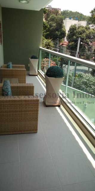 Varanda - Casa 4 quartos à venda Grajaú, Norte,Rio de Janeiro - R$ 1.220.000 - TACA40073 - 1