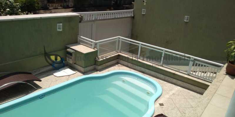 Piscina - Casa 4 quartos à venda Grajaú, Norte,Rio de Janeiro - R$ 1.220.000 - TACA40073 - 25