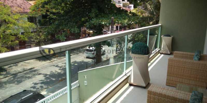 Varanda - Casa 4 quartos à venda Grajaú, Norte,Rio de Janeiro - R$ 1.220.000 - TACA40073 - 3