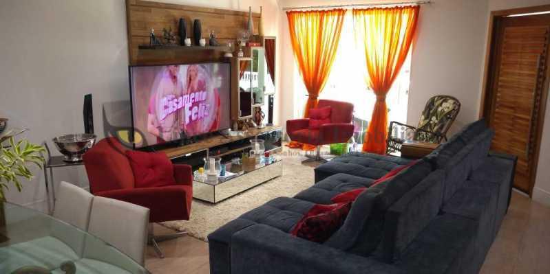 Sala - Casa 4 quartos à venda Grajaú, Norte,Rio de Janeiro - R$ 1.220.000 - TACA40073 - 9