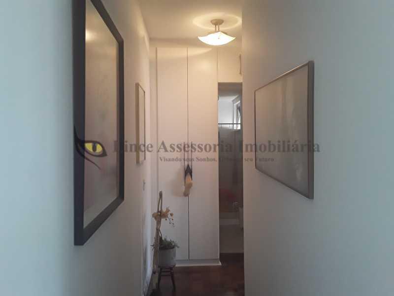 corredor do apto para os quart - Apartamento 2 quartos à venda Rocha, Rio de Janeiro - R$ 290.000 - TAAP22401 - 7