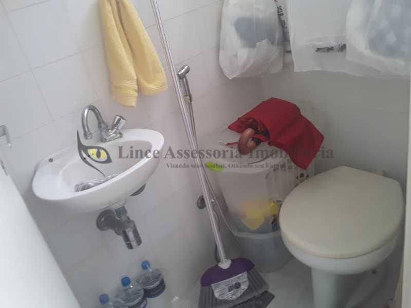banheiro de serviço - Apartamento 2 quartos à venda Rocha, Rio de Janeiro - R$ 290.000 - TAAP22401 - 30