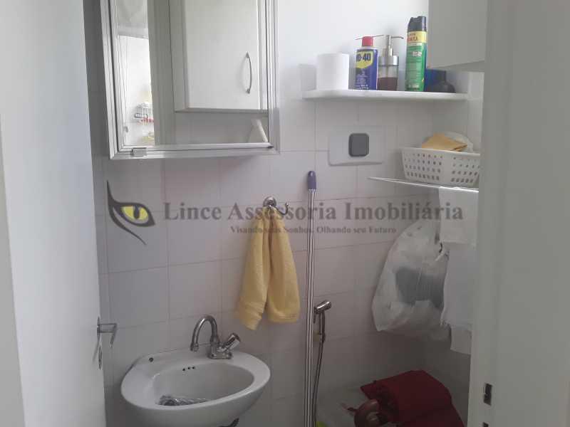 banheiro serviço - Apartamento 2 quartos à venda Rocha, Rio de Janeiro - R$ 290.000 - TAAP22401 - 31