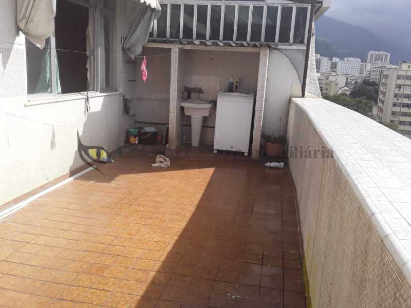 terraço2 - Cobertura 2 quartos à venda Tijuca, Norte,Rio de Janeiro - R$ 600.000 - TACO20094 - 10