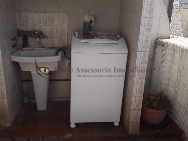 area serv - Cobertura 2 quartos à venda Tijuca, Norte,Rio de Janeiro - R$ 600.000 - TACO20094 - 24