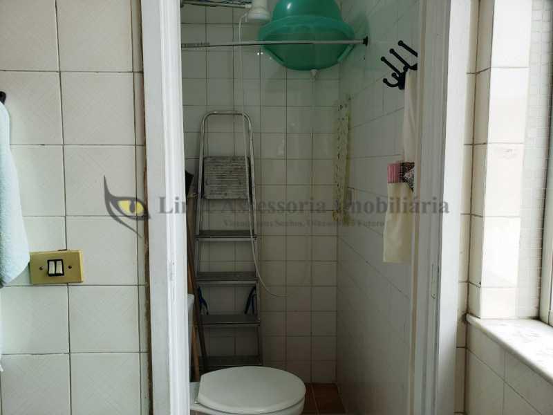 BANHEIRO DE SERVIÇO - Apartamento 2 quartos à venda Rio Comprido, Norte,Rio de Janeiro - R$ 450.000 - TAAP22413 - 20