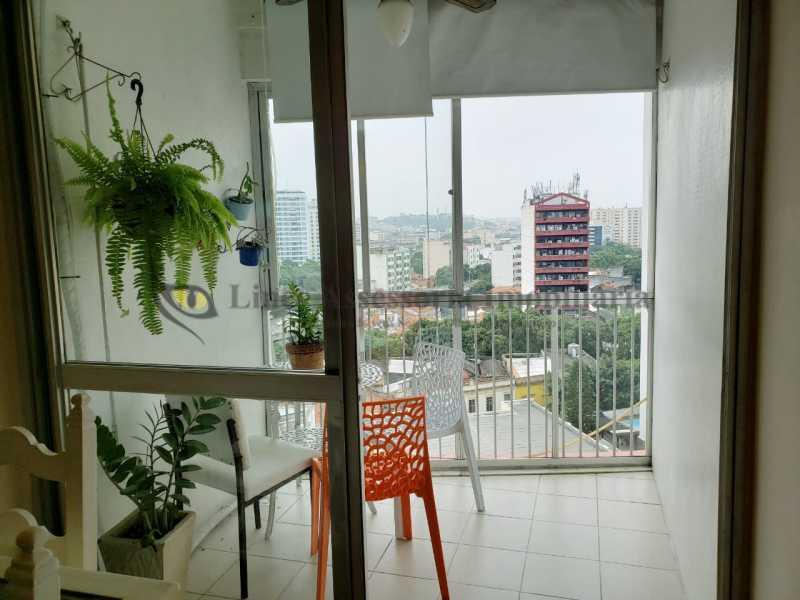 VARANDA - Apartamento 2 quartos à venda Rio Comprido, Norte,Rio de Janeiro - R$ 450.000 - TAAP22413 - 6