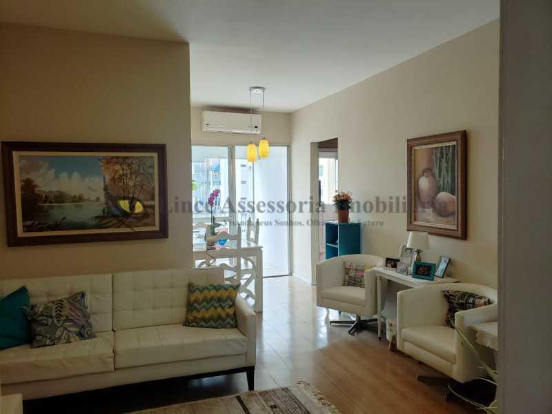 SALA - Apartamento 2 quartos à venda Rio Comprido, Norte,Rio de Janeiro - R$ 450.000 - TAAP22413 - 1