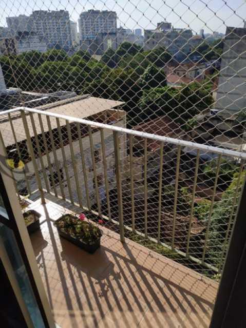 5-vista varanda - Apartamento 2 quartos à venda Rio Comprido, Norte,Rio de Janeiro - R$ 335.000 - TAAP22420 - 6
