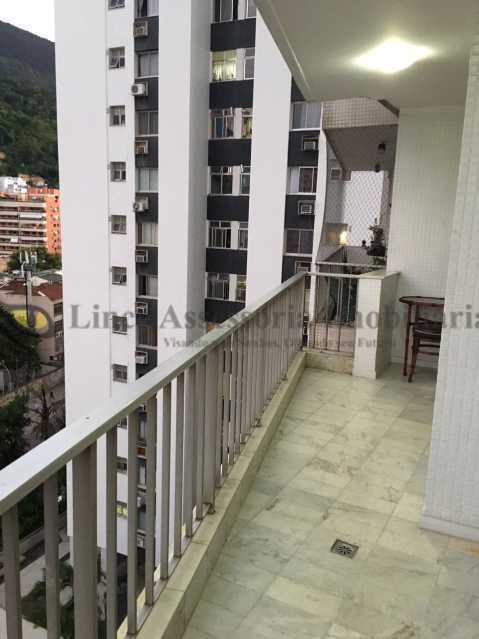 varanda  - Apartamento 3 quartos à venda Tijuca, Norte,Rio de Janeiro - R$ 750.000 - TAAP31371 - 5