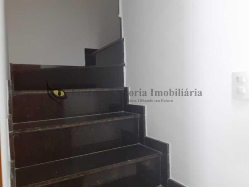 Escada para o 2°piso - Casa 3 quartos à venda Maracanã, Norte,Rio de Janeiro - R$ 799.000 - TACA30118 - 24