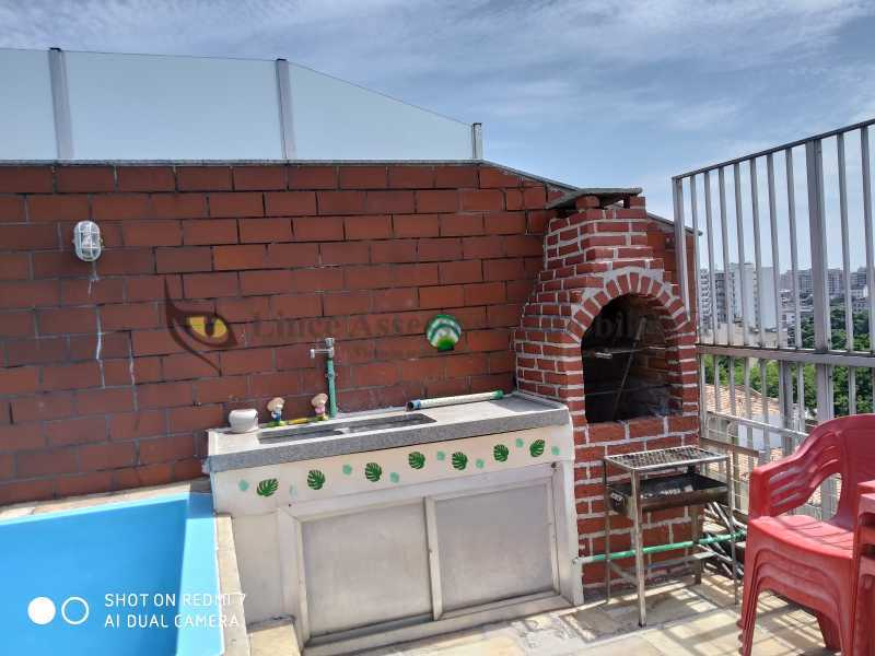 Terraço - Cobertura 4 quartos à venda Engenho Novo, Norte,Rio de Janeiro - R$ 400.000 - TACO40055 - 20