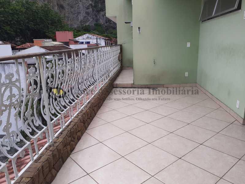 varanda terraço - Casa em Condomínio 4 quartos à venda Vila Isabel, Norte,Rio de Janeiro - R$ 990.000 - TACN40008 - 4