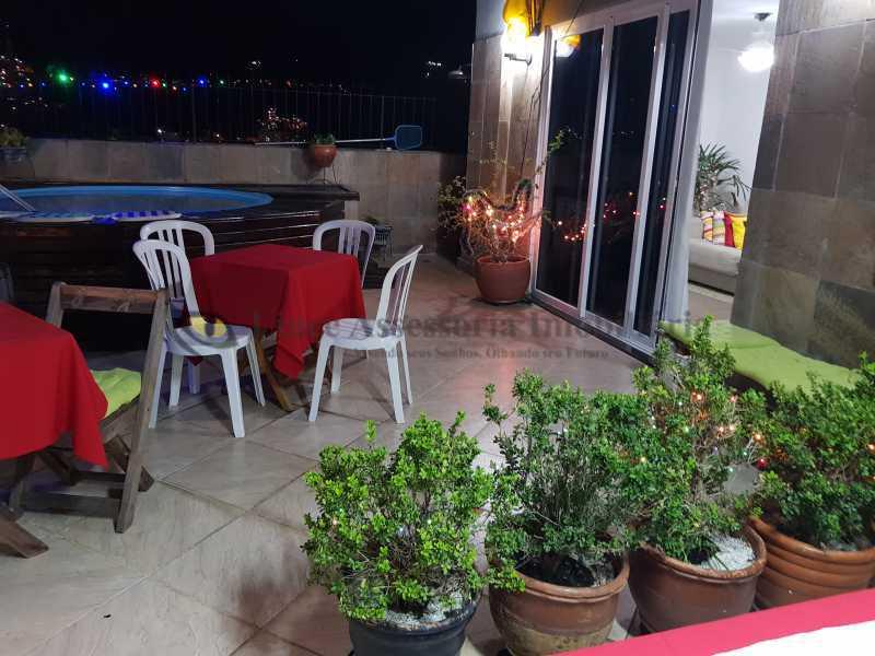 1-terraço 4 - Cobertura 3 quartos à venda Rio Comprido, Norte,Rio de Janeiro - R$ 670.000 - TACO30158 - 1