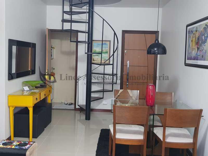 2-sala - Cobertura 3 quartos à venda Rio Comprido, Norte,Rio de Janeiro - R$ 670.000 - TACO30158 - 3