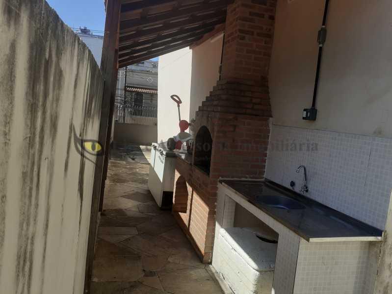 Churrasqueira - Apartamento 2 quartos à venda Vila Isabel, Norte,Rio de Janeiro - R$ 350.000 - TAAP22464 - 27