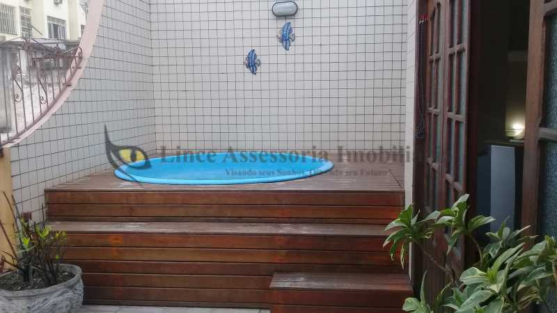 17 PISCINA1.0 - Casa de Vila 4 quartos à venda Vila Isabel, Norte,Rio de Janeiro - R$ 960.000 - TACV40028 - 19