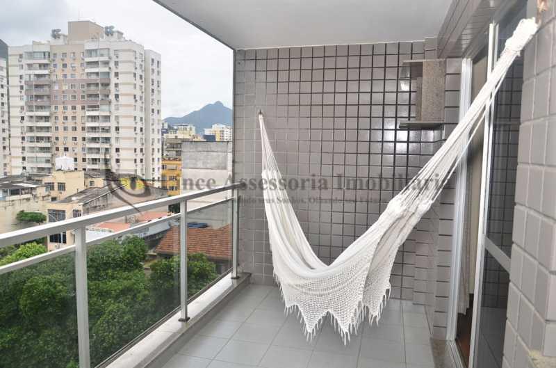 Varanda - Apartamento 2 quartos à venda Rio Comprido, Norte,Rio de Janeiro - R$ 459.000 - TAAP22466 - 3
