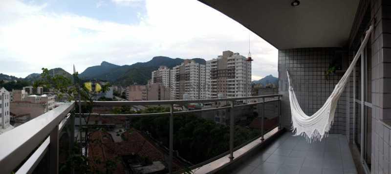 Varanda - Apartamento 2 quartos à venda Rio Comprido, Norte,Rio de Janeiro - R$ 459.000 - TAAP22466 - 4
