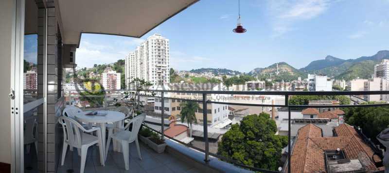 Varanda - Apartamento 2 quartos à venda Rio Comprido, Norte,Rio de Janeiro - R$ 459.000 - TAAP22466 - 1